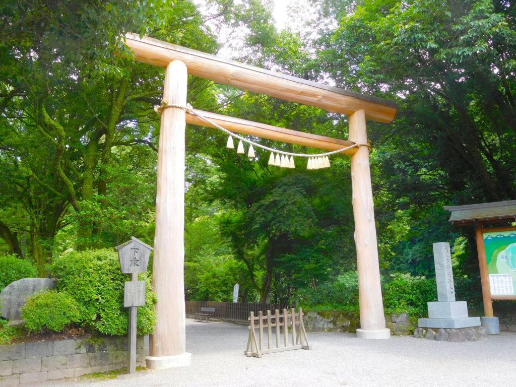 天岩戸神社・鳥居