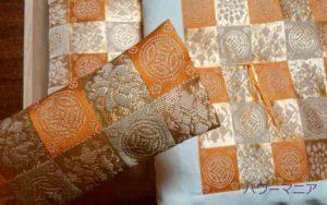 金運アップの財布の布団の枕