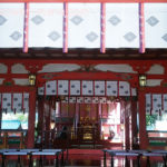 長田神社の本殿の中