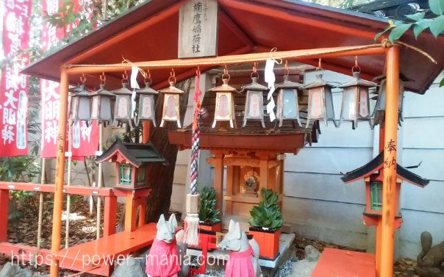 長田神社の楠鷹稲荷社