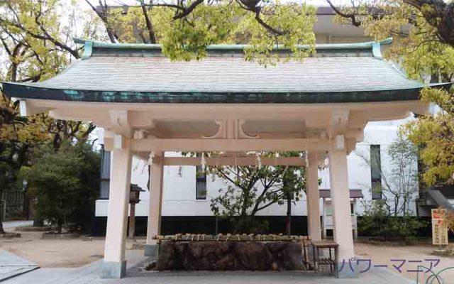 湊川神社の手水舎