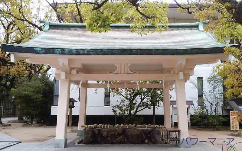 湊川神社・手水舎