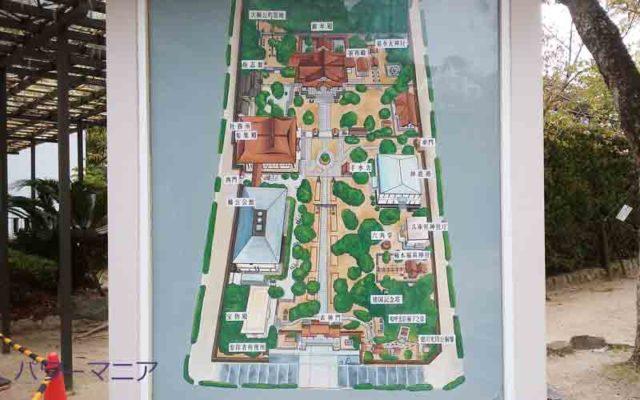 湊川神社・境内の案内図