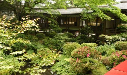 三千院の中庭