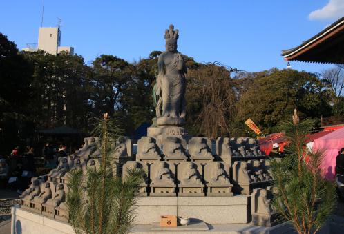 西新井大師のお砂踏み霊場