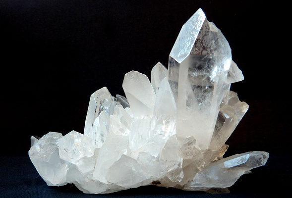 水晶クラスター