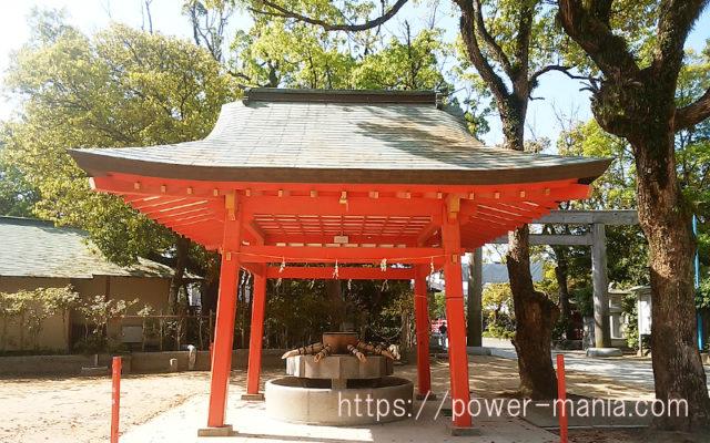 長田神社の手水舎
