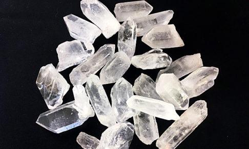 たくさんの水晶の結晶