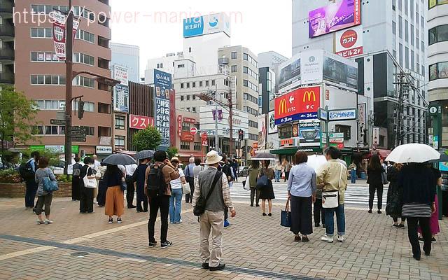 三宮神社へのアクセス・JR元町駅の外