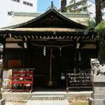神戸市・柳原天神社の拝殿