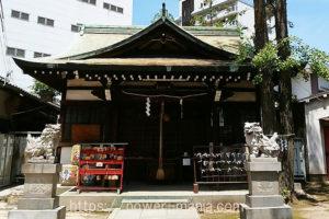 柳原天神社・拝殿