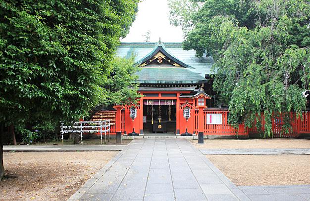 馬橋稲荷神社・拝殿