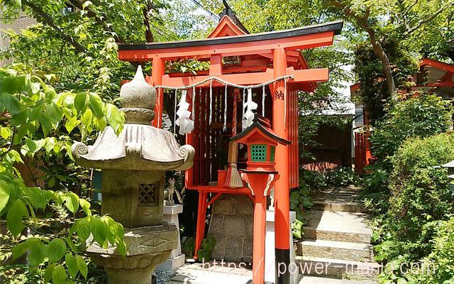 一宮神社の境内にある熊高稲荷社