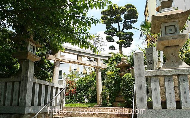 一宮神社の入口の鳥居