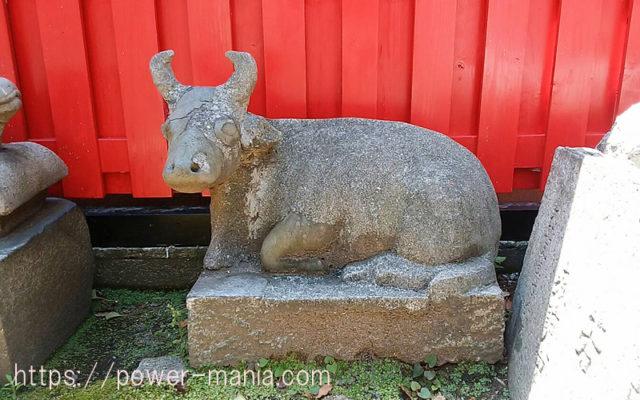 柳原天神社の境内横の石碑