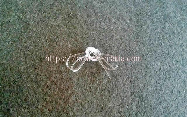 ヒラオカ宝石の交換用ゴム