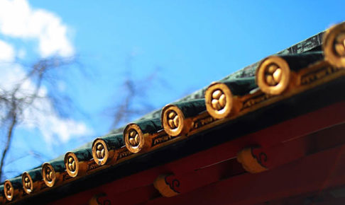 久能山東照宮の屋根