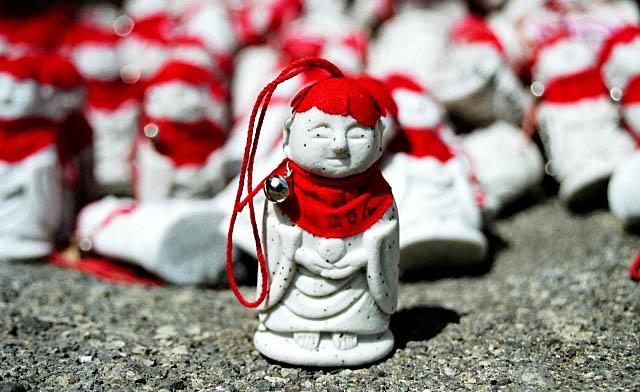日本寺のお願い地蔵尊のお地蔵さま