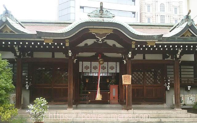 三宮神社の本殿