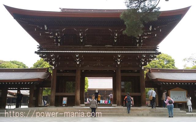 明治神宮の神門