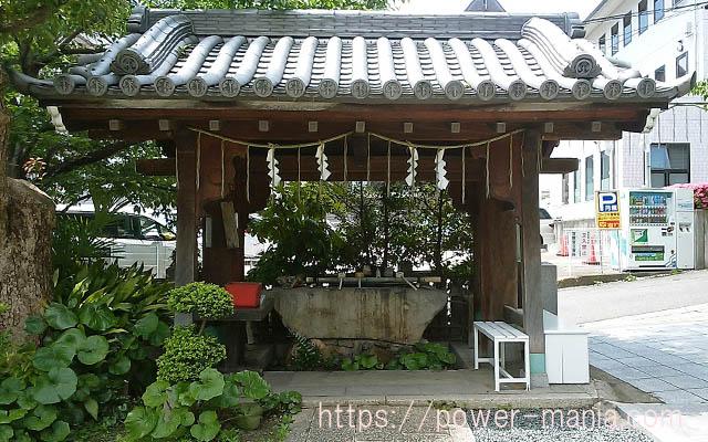 一宮神社の手水舎