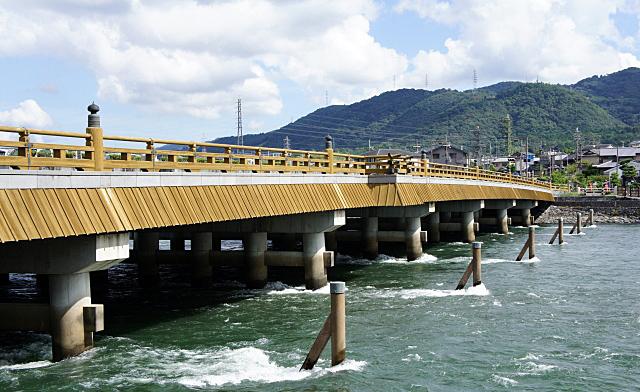 宇治川にかかる橋
