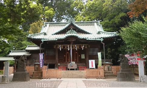 代々木八幡宮の拝殿