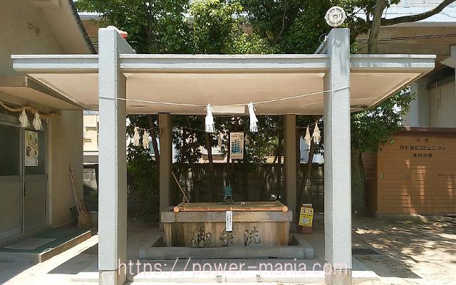 船寺神社の手水舎
