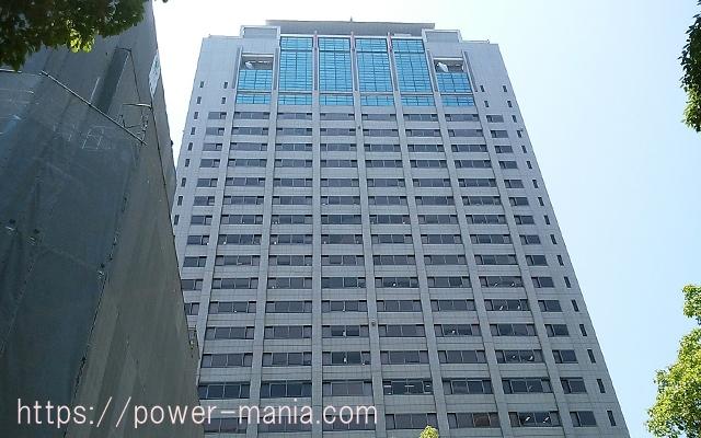 四宮神社へのアクセス・兵庫県警の高いビル