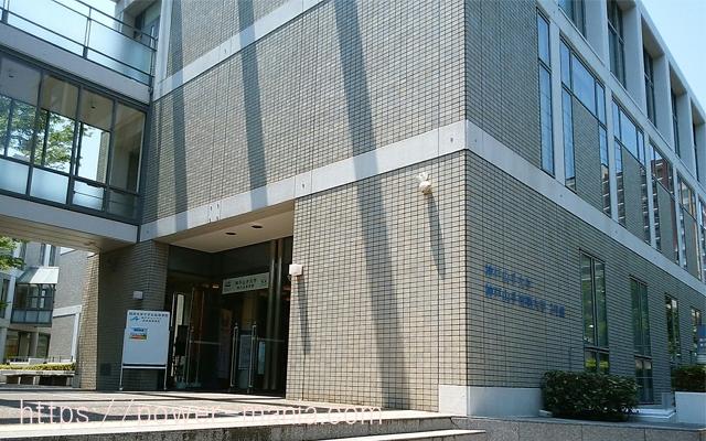 五宮神社へのアクセス・山手短期大学の前