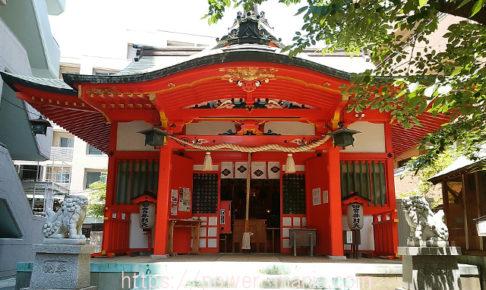 四宮神社・拝殿