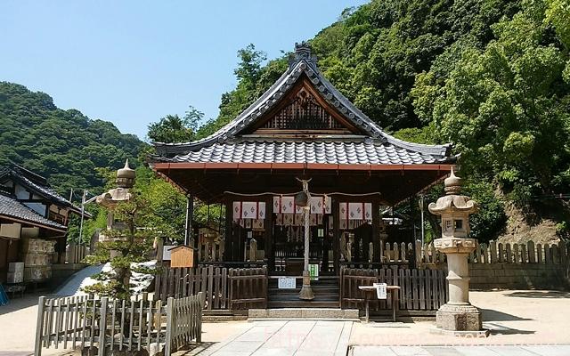 祇園神社の拝殿中央