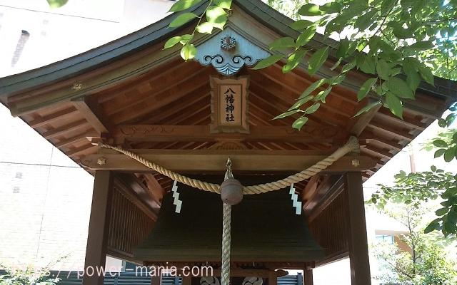 四宮神社の八幡神社の扁額