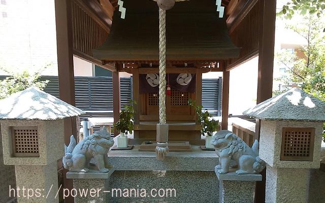 四宮神社の八幡神社