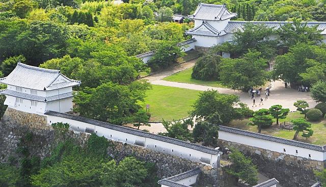 姫路城の庭
