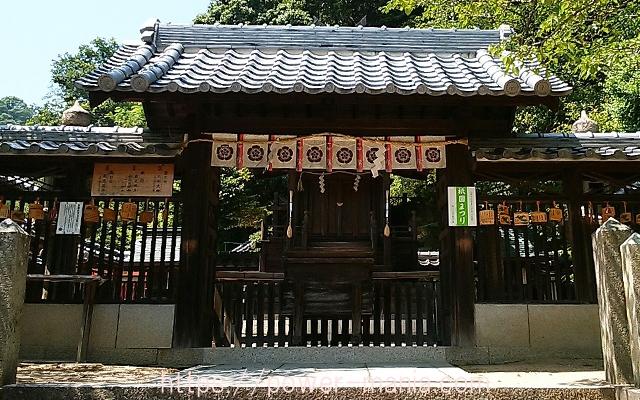 祇園神社の本殿