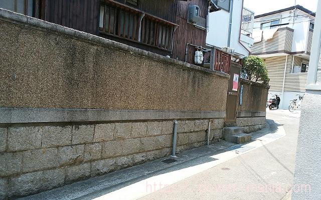 五宮神社へのアクセス・入り組んだ道