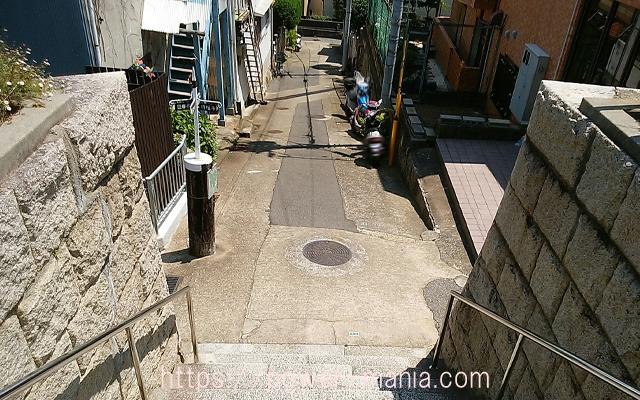 五宮神社の石段