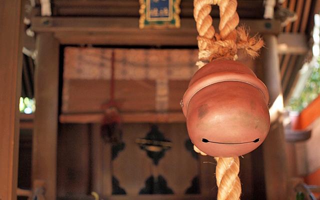 神社参拝・鈴