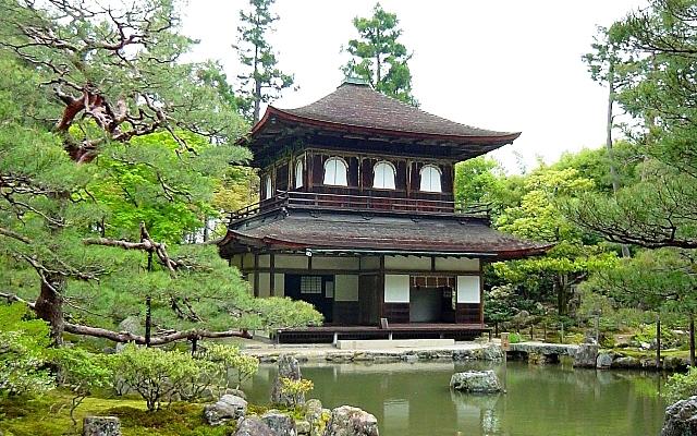 銀閣寺の観音殿