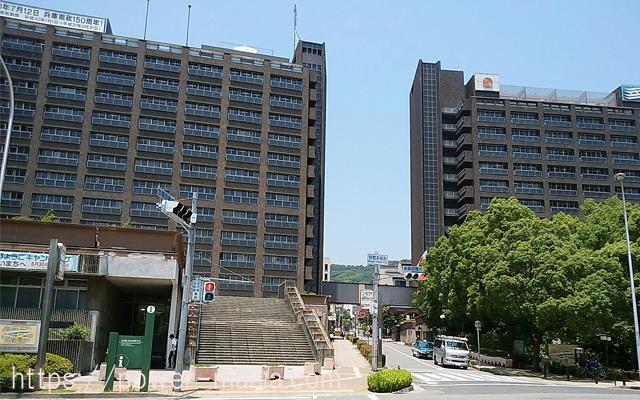 四宮神社へのアクセス・兵庫県庁前の信号