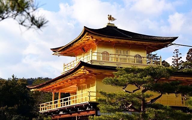 金閣寺の舎利殿