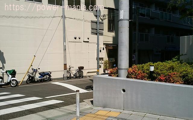 祇園神社から八宮神社へのアクセス・右に曲がる