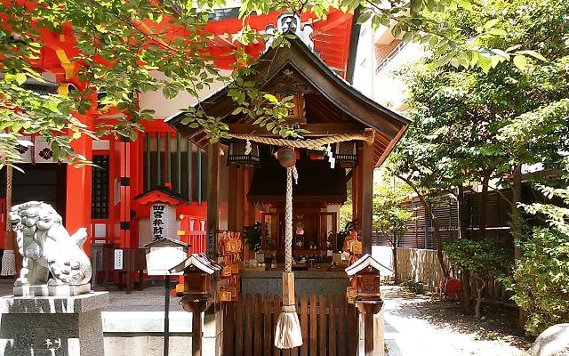 四宮神社の弁財天巳神社