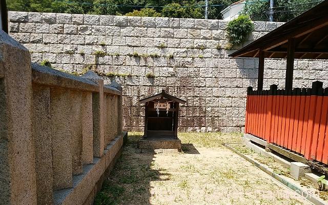 五宮神社の納札所