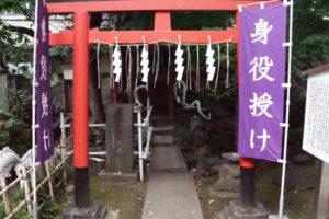上神明天祖神社の白蛇さま