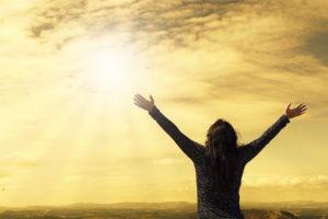 運気を上げるイメージ・太陽の光を浴びているところ