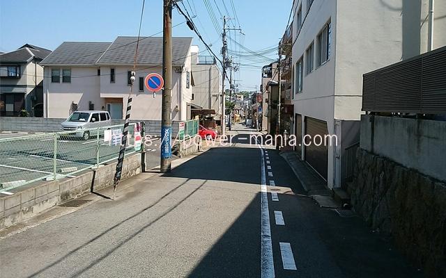 祇園神社から八宮神社へのアクセス・道を進む