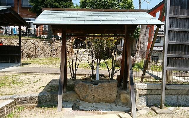 五宮神社の手水舎