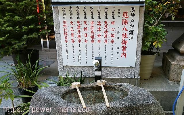 四宮神社の手水舎